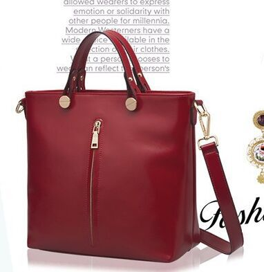 2015 new fashion designer handbags high quality, genuine ladies leather bags, women shoulder bags candy color bags tote bag(China (Mainland))