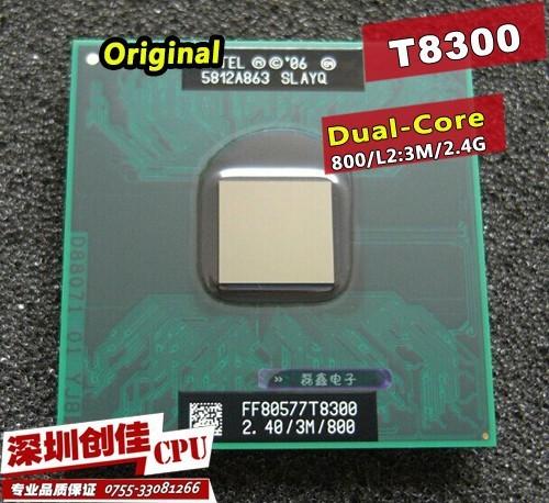 Процессор для ПК intel CPU Core 2 Duo T8300 3 cache/2.4ghz/800/dual/Core P GM45 Pm45