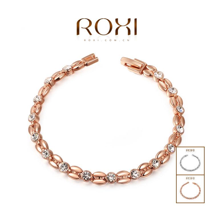 ROXI Exquisite Bracelets platinum plating,High quality products,best Christmas jewelry gift ,factory price,new style 2060802490(China (Mainland))