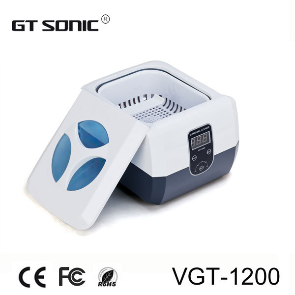 1.3L dental clinic ultrasonic cleaner with free cleaning basket 110V, 220V VGT-1200(China (Mainland))