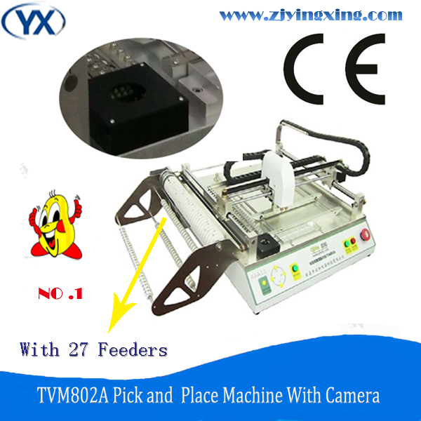 Precise Durable Used SMT Machine TVM802A With Vision System/27Feeders and High Speed(China (Mainland))