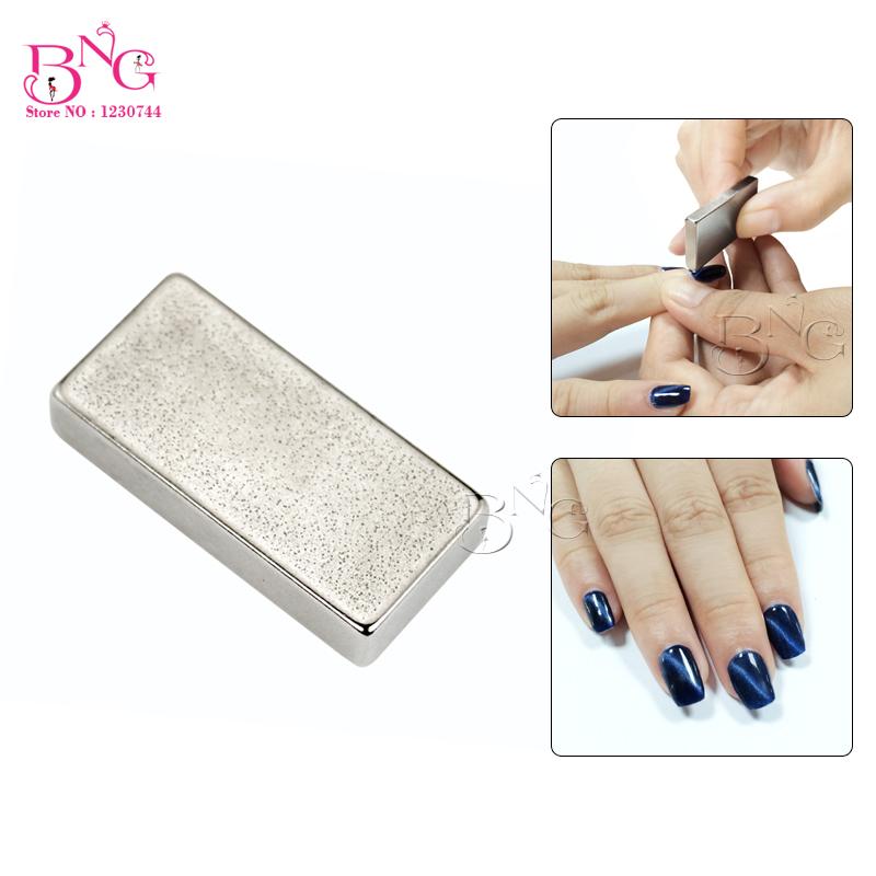 Nail Art Beauty Strong Magnetism One Strip Magical Magnet Sticker Cat Eye UV Gel Polish Manicure Tool 3D Effect  -  BeautyGaGa store
