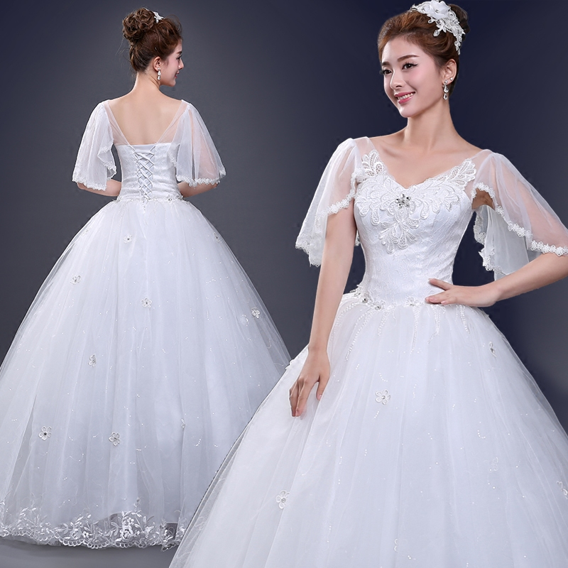 lhs011203 leondo fast shipping bridal dresses in stock