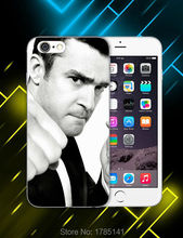 1pcs justin timberlake hard white Skin Case for iphone6 (4.7inch) and iphone6 plus(5.5inch) Retail