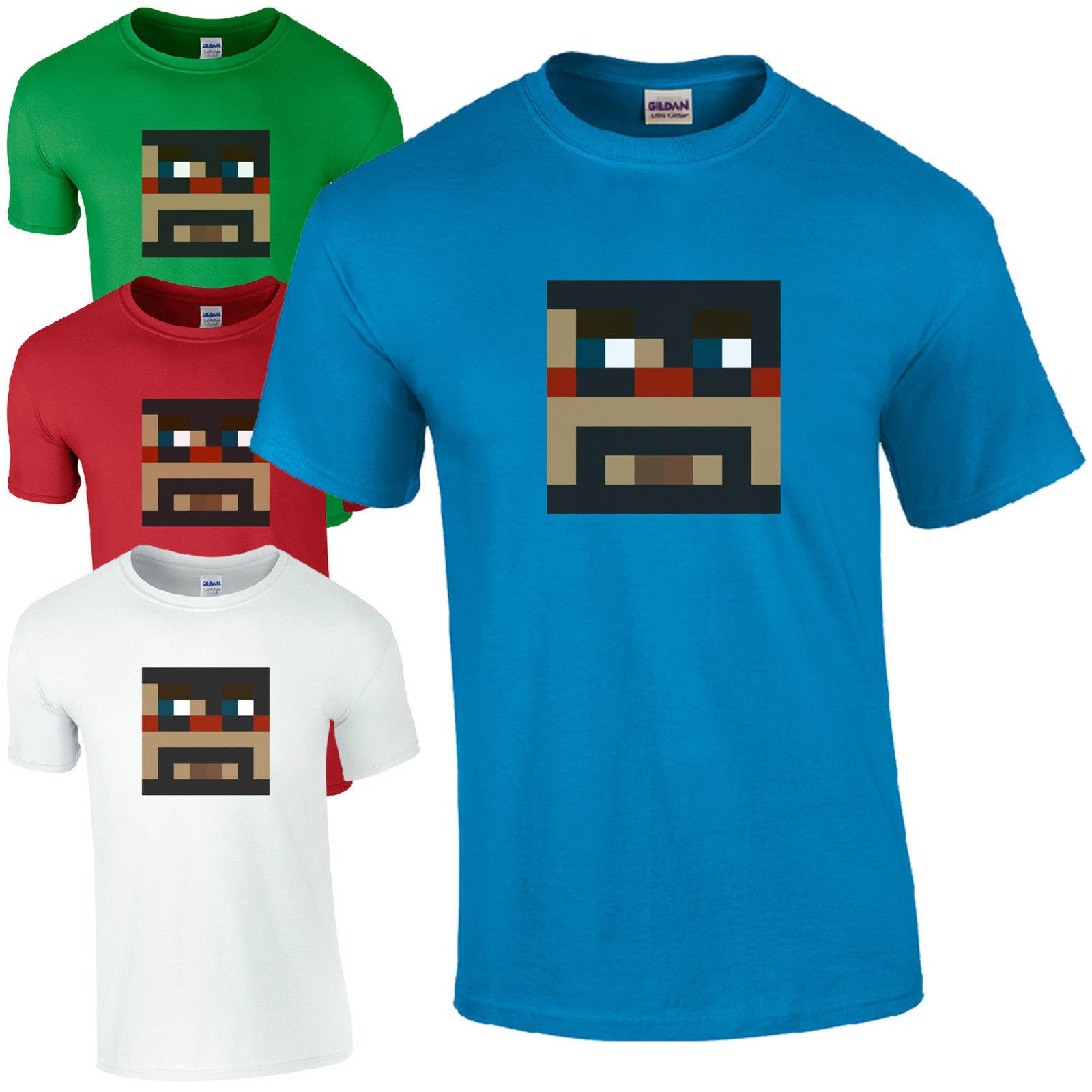 T shirt design youtube - T Shirts Fashion 2016 Crew Neck Men Short Sleeve Captainsparklez Fun Cool Cs Youtube Video