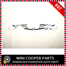 Brand New ABS Plastic UV Protected Dashboard Cover White Union Jack Style for mini cooper clubman R55 R56 R57 R58 R59(China (Mainland))