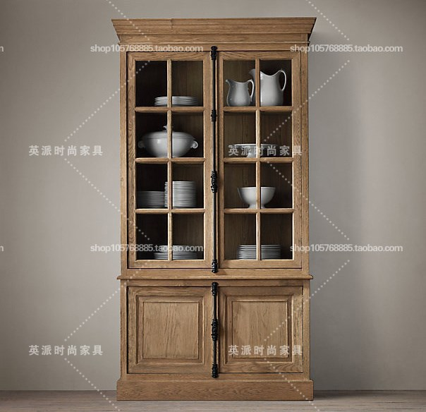 American and european rustic style furniture vintage for Cheap kitchen carcass
