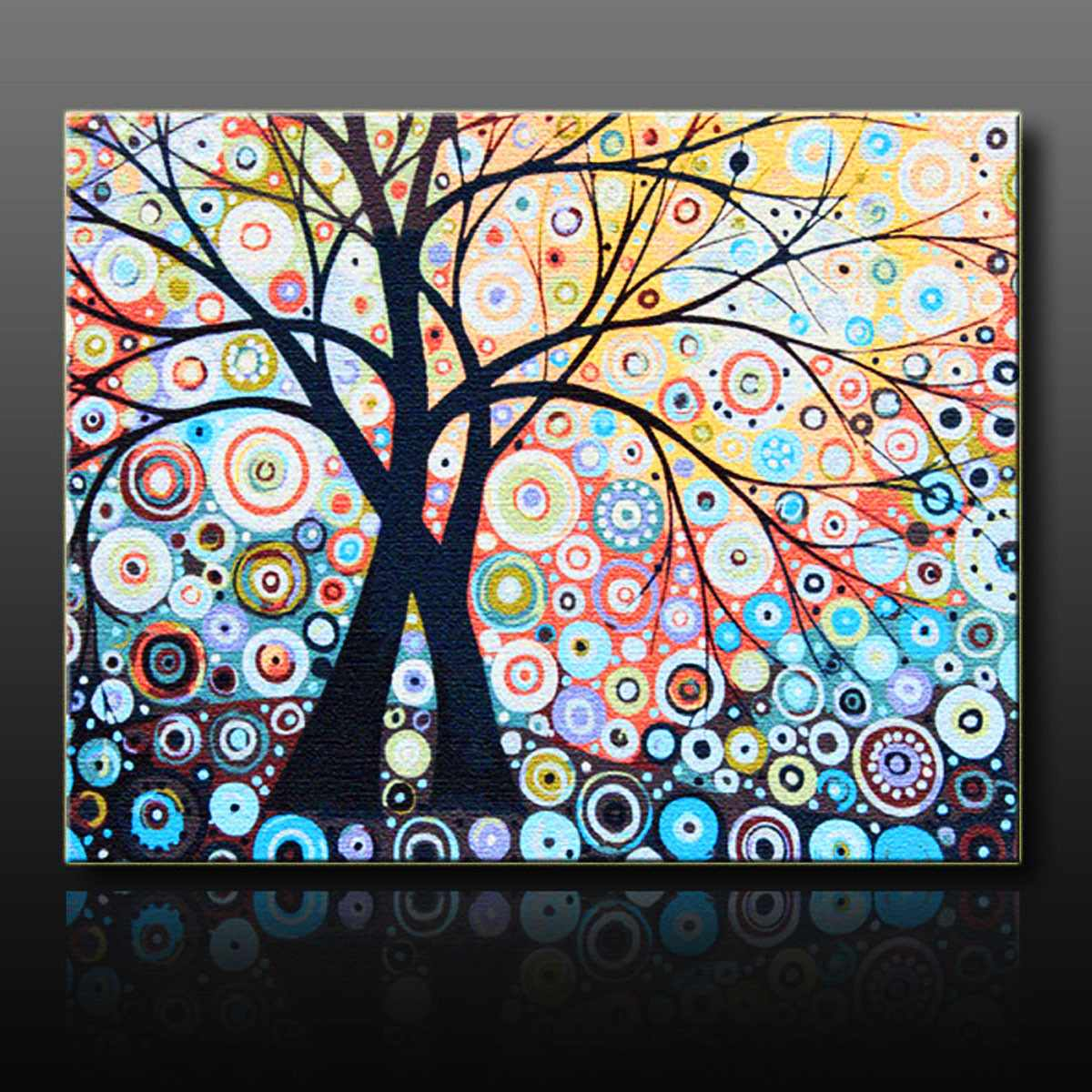 Home House Decorate Magic New DIY Paint By Number 16X20inch kit Abstract Tree On Canvas Cool Boy Girl Party Gift