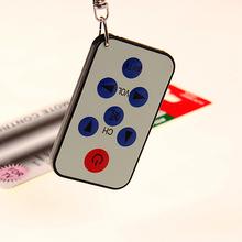 free shipping Universal IR Mini TV Remote Control Keychain#9588(China (Mainland))