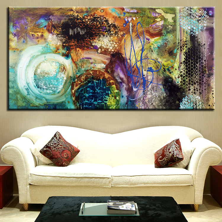 living room painting abstract art wall painting for home decor ideas