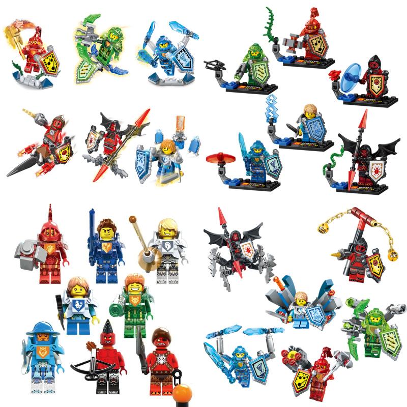 Nexo Knights Future Castle Warrior Ulimate Marvel Building Blocks Kits Toys Minifigures Compatible Legoe Nexus  -  CyunSing Trading store