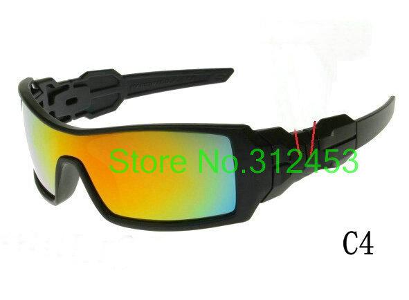 Hot selling men's sport sunglasses Cheap sun glasses 9 colors choose Resin Lens - Trade-sunglasses store