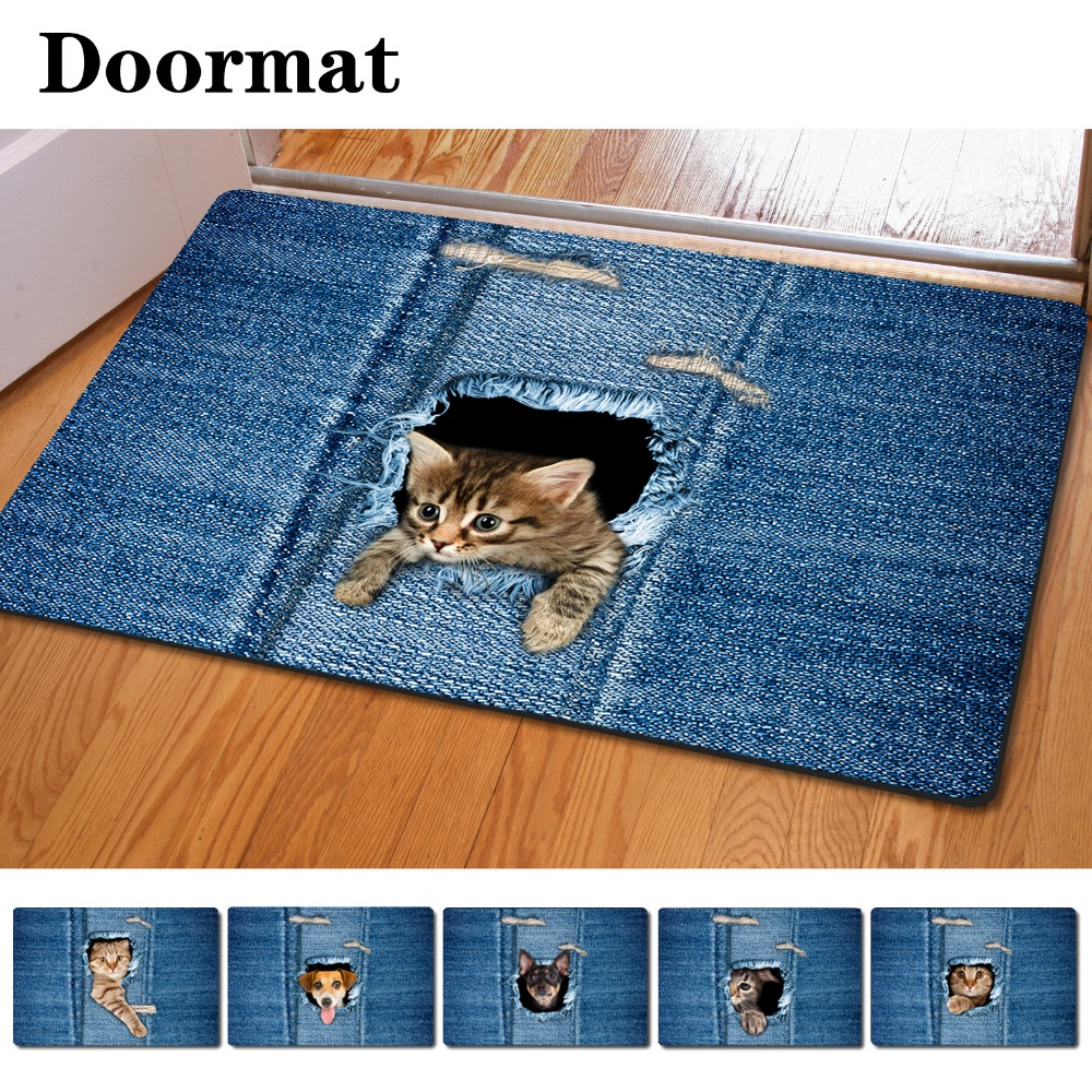 Dog House Welcome Mat