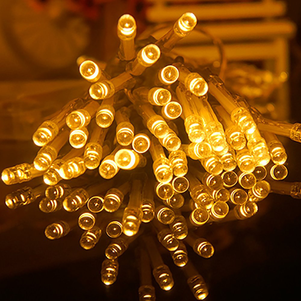 Multi-color 10M 80 LED String Light 3*AA Battery Operated Fairy Party Wedding Christmas Flashing LED Strip Home Decoration<br><br>Aliexpress