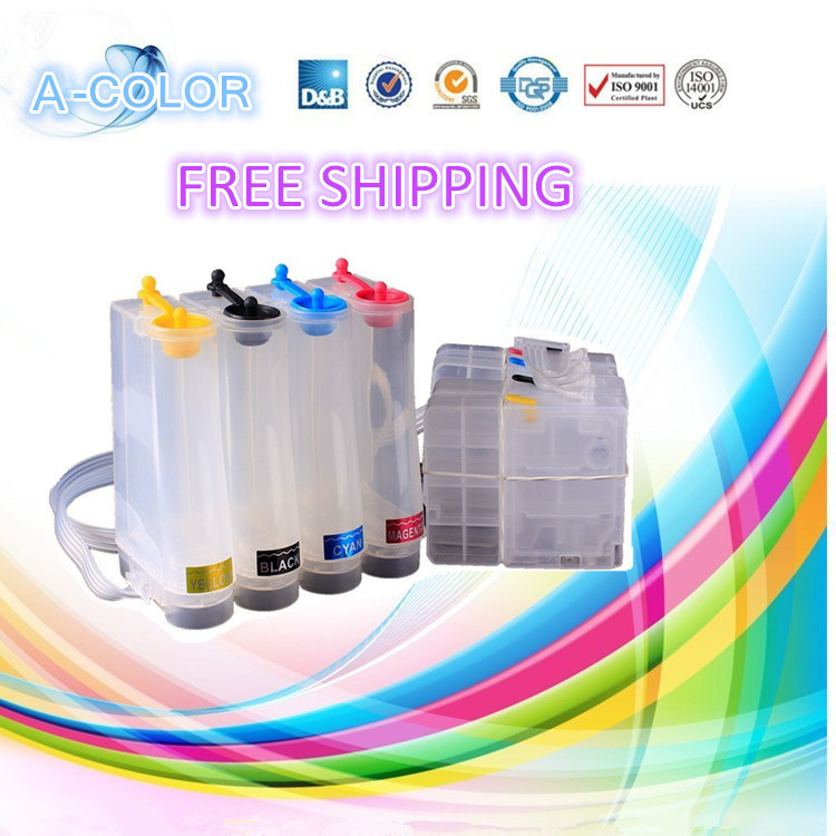 1set 4 color PGI-1100 PGI1100 ciss ink for Canon MAXIFY MB2010 with auto reset chip 100ml per each color for Latina America