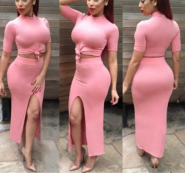 Pink club dresses plus size