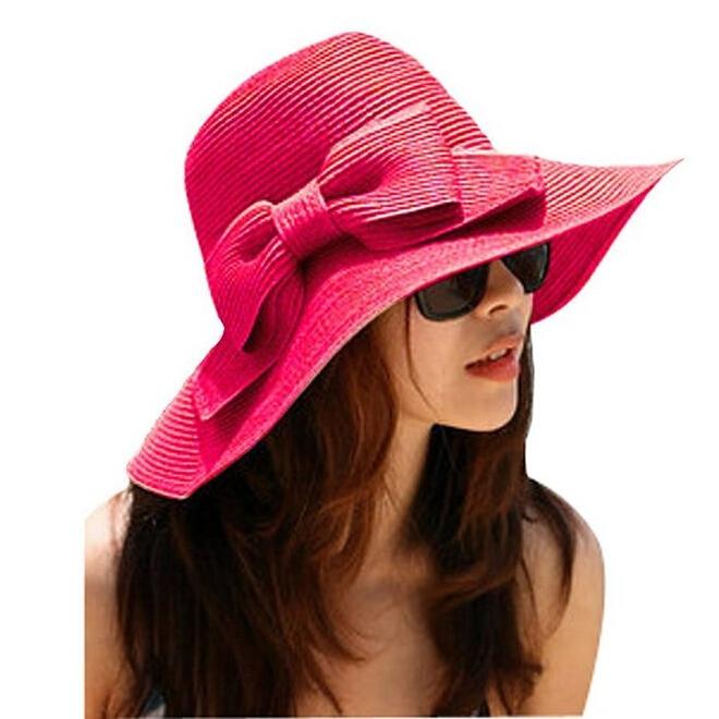 Wide Brim Floppy Hat Straw Hat Big Wide Brimmed
