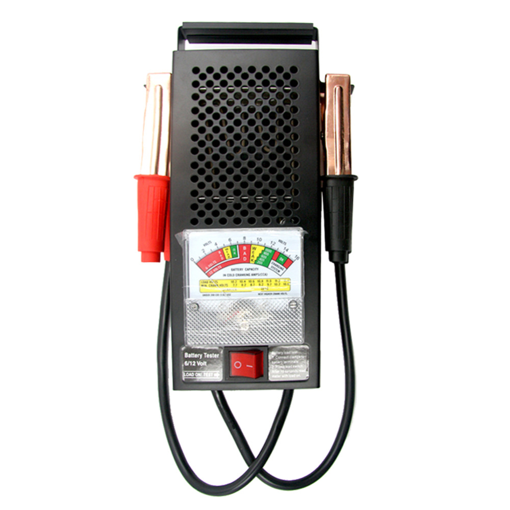 Practical Digital Car Battery Tester Automotive Styling Original Metal Professional Battery Diagnostic Tool Car Accessories(China (Mainland))