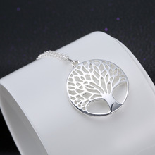 2016 The Tree of Life tree necklace Europe retro gem necklace wholesale trade time best Christmas gift(China (Mainland))