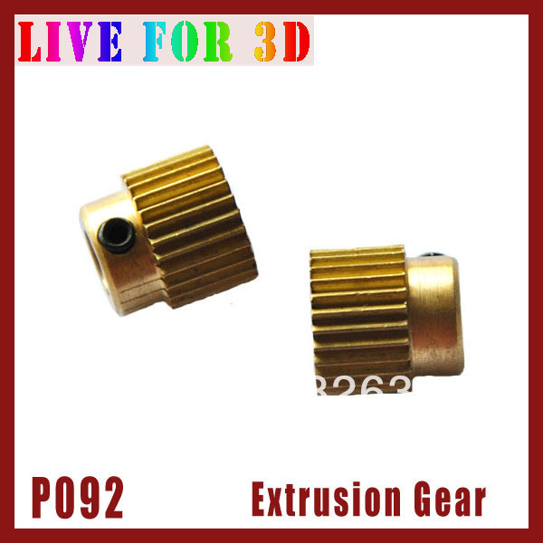 [P092]*** Hole Diameter 5mm Gear of Extrusion Head Extruder Nozzle for 3D Printer Parts