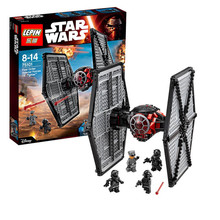 LEPIN 05005 First order Special Forces TIE Fighter Star Wars Minifigure Building Block 550Pcs Bricks Toys Compatible With Lego