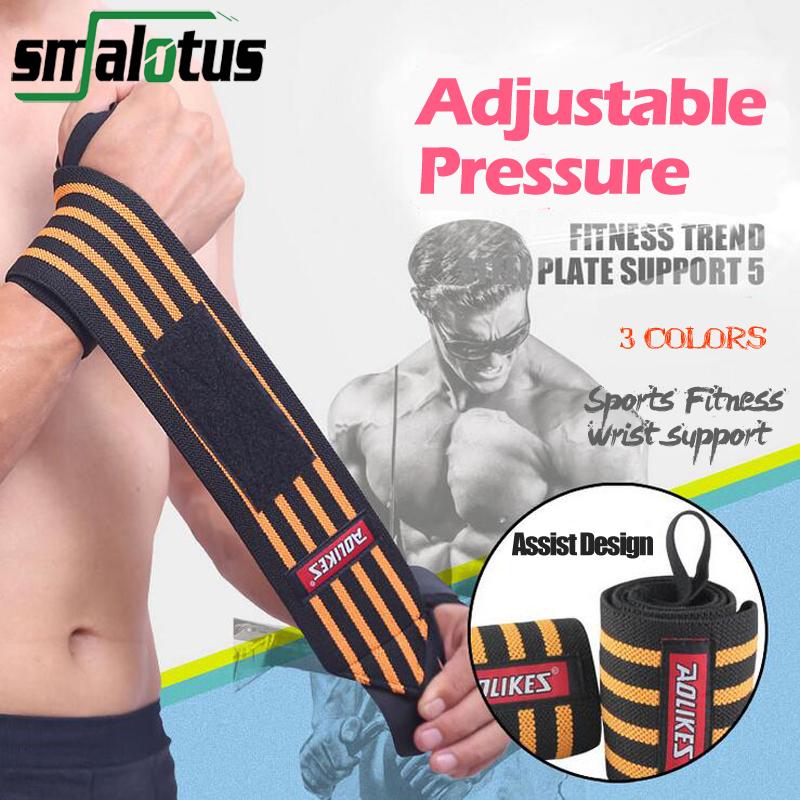Pair Sports Wrist Bandages Wrist Wraps GYM Bandage Fitness Crossfit Trend