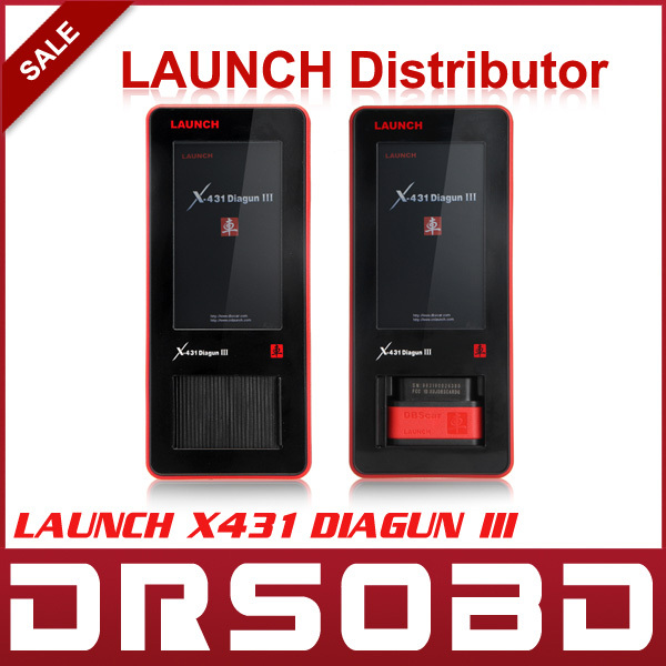 [LAUNCH Distributor] 2015 Globle Version LAUNCH X431 Diagun III Auto Scanner Free online Update Diagun3 Car Diagnostic tool(China (Mainland))