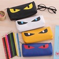 2015 New school pencil bag case lovely new plush stationery 3D animals coins Pouch pen box student prizes for children gift