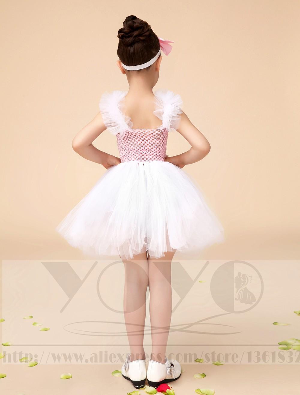 Скидки на Бальное платье цвета слоновой кости принцесса маленькие девочки платья платья с створки дети вечернее платье