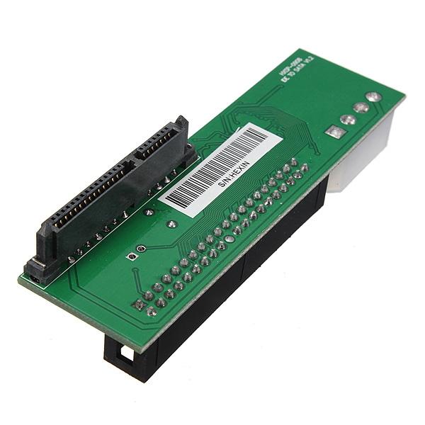2.5/3.5 Inch Hard Drive Serial SATA to ATA IDE PATA Card 40 Pin HDD CD DVD Converter Adapter SATA HDD To Male 40Pins IDE Adapter(China (Mainland))