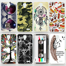 Case For Lenovo A536 A358T Colorful Printing Drawing Plastic Hard Cover for Lenovo A358T Hot Selling