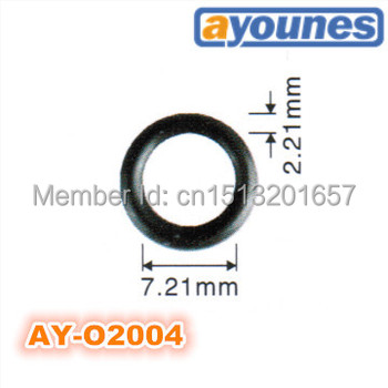 wholesale 200pcs/set top quality 7.21*2.21 mm viton o rings fuel injector repair kits for AY-O2004