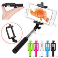 Aluminum Alloy Extendable Hand Self-portrait Tripod Monopod Selfie Sticks For Cell Phone Mobile For Android Smart Phone