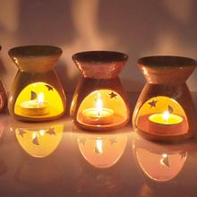 Ceramic Oil Aroma Lamp & Candles