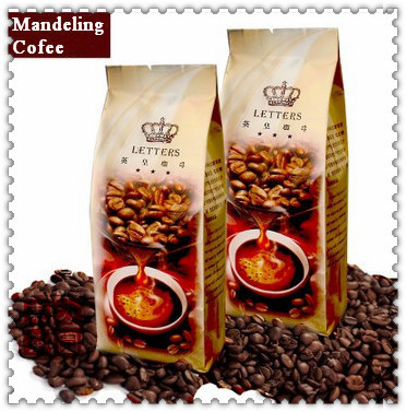 227g DarkRoasted Mandheling Coffee Bean High Grade 100 Of The Coffee Beans Cooked Beans Free Shipping