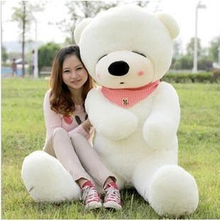 Plush toy 80cm Large teddy bear  gift doll three colours available  t9054