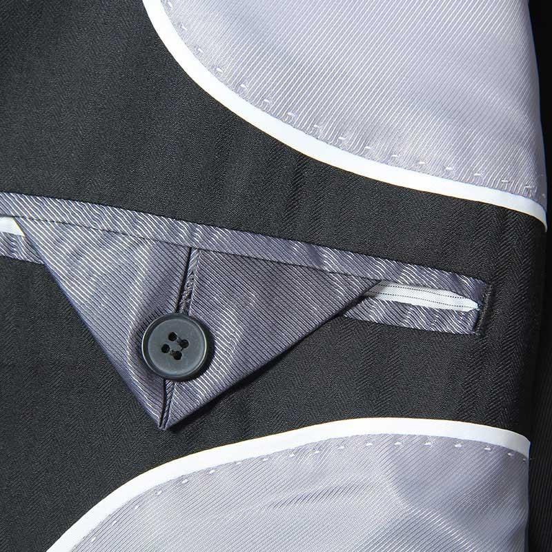 Brand-clothing Men's Suit jacket Chaqueta Americana hombre vestir Fashion Mariee Slim Tide Nightclub Single Breasted Male Tuxedo