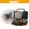 JAKEMY 31 in 1 Professional Screwdriver Set Socket Slotted Phillips Torx Repairing Tools Kit For Computer