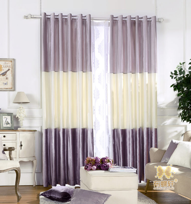 blackout curtains pinted curtain stitching colors modern