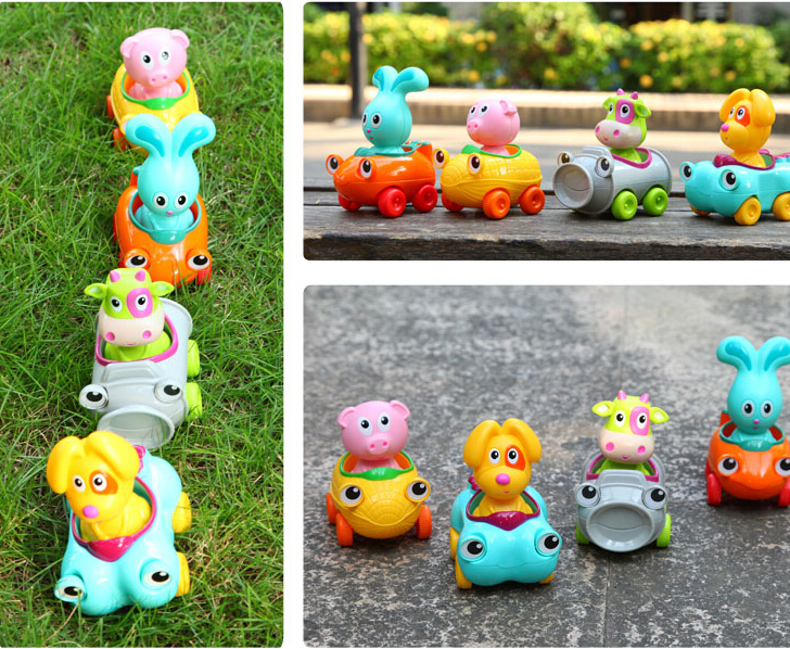 Free Shipping 2015 Funny Animal Model Baby Play Game Toys,New Fashion Children's Educational Toy Car for Kids Gift