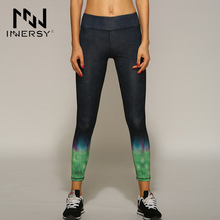 Innersy Running Yoga Pants Fitness Leggings and Quick-Drying Pants High Elastic Outdoor Sports Running Tights Women Jzh92
