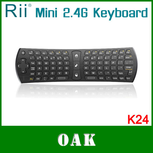 Original Rii K24 2.4G Mini Wirless Keyboard/Air Mouse TouchPad Smart TV/Android Box - OAK Factory store