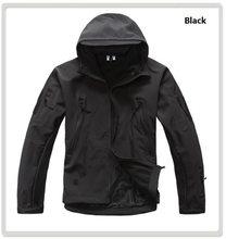 Merodeador de la piel de tiburón, Softshell V5 táctico militar chaqueta hombres chaqueta abrigo impermeable con capucha de camuflaje ejército ropa de camuflaje(China)