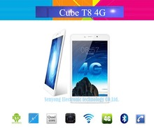 New Arrival 8'' IPS Cube T8 Ultimate Dual 4G Phone Call Tablet PC 1920x1200 Android 5.1 Octa Core Play Store GPS 5MP Dual Camera(China (Mainland))