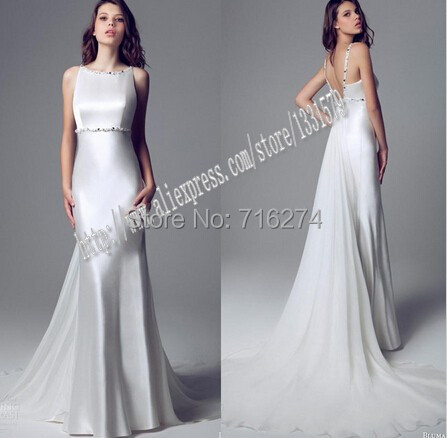 Buy 2015 summer bride chiffon halter for Jewelry for halter wedding dress