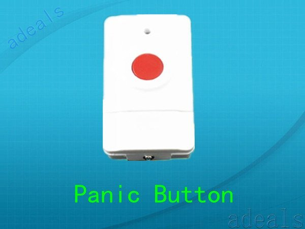 Wireless Panic Button For GSM/PSTN  home Alarm System Emergency  Alarm s185