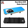 5 0 inch HD Rearview Mirror DVR Radar Detector 1080P Car Cameras Recorder Parking Monitor Dash