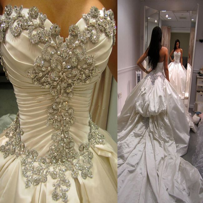 Wedding Dresses Real : Aliexpress buy wedding gowns real sample bridal dress modest