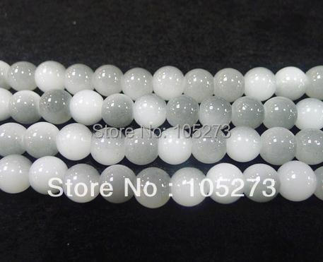 New Arriver Glass Jewelry 10mm Round Mixes Gray Glass beads of the lacquer that bake Loose Beads 15/String Free Ship A2706-61<br><br>Aliexpress