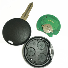 Remote key Keyless Entry Fob 3 Button For MERCEDES-BENZ MB Smart Fortwo 433MHZ(China (Mainland))